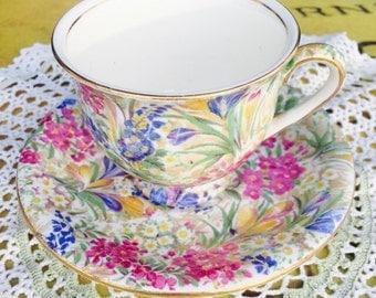 Royal Winton Teacup and Saucer