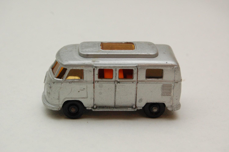 Matchbox Lesney 34 Volkswagen Camper Mini Bus Low roof