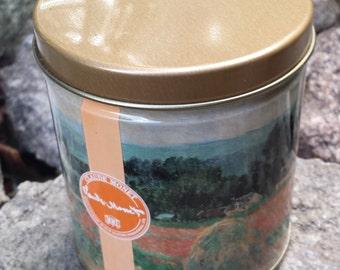 Vintage Metal Tin  - Claude Monet