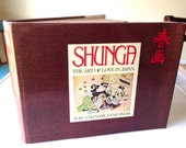 Shunga: The Art of Love in Japan - Evans 1979 2nd Printing HBDJ Erotic Woodblock Prints