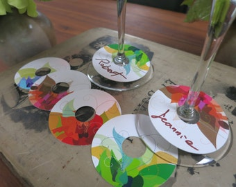 Wine Glass Markers (Tag/charm)