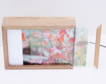 A4 lightbox | back lit photo display | self customizable