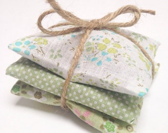 Lavender sachets - set of three