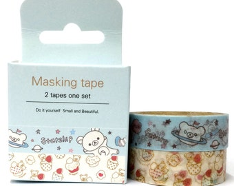 Washi Tape (4.9m) 2pc Set ST313124