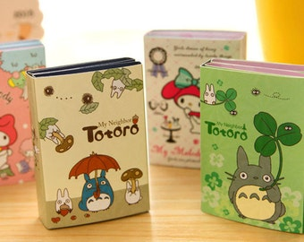6Fold Totoro Melody Post IT Notes Sticky Memo