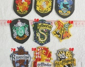 Movie Series Patches - Magic School Badge Appliques / A68 Movie TV Patches