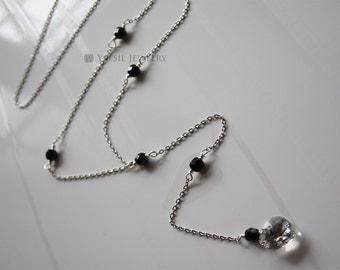 Long Y Necklace, Long Necklace, Layering Necklace