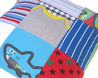 Memory Pillow - Baby clothes keepsake - Personalized pillow - Baby clothes cushion - Memory Cushion - Custom pillow - First year pillow