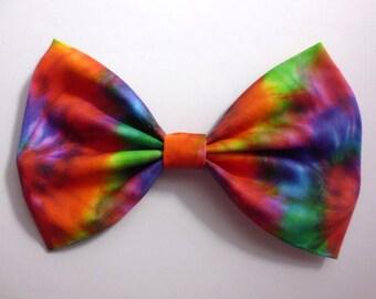 Tie-dye Hair Bow