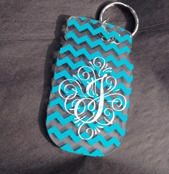 Custom 3 inch Mason Jar Acrylic Key chain
