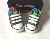 Avengers Marvel Comics Shoes, Converse Avengers Shoes, Kids Iron Man Shoes, Hulk Shoes, Thor Shoes, Black Widow, Hawk, captain america