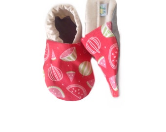 Scented Watermelon Baby Shoes