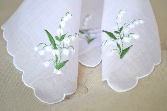 store lily valley handkerchief
