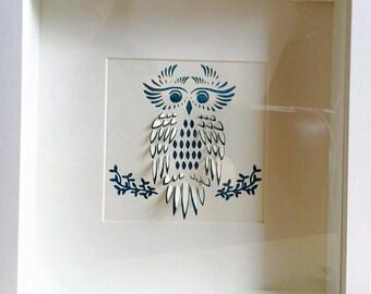 3D Owl box frame