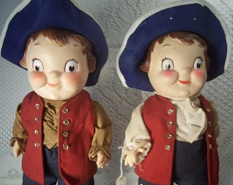 Campbell Soup Colonial Dolls