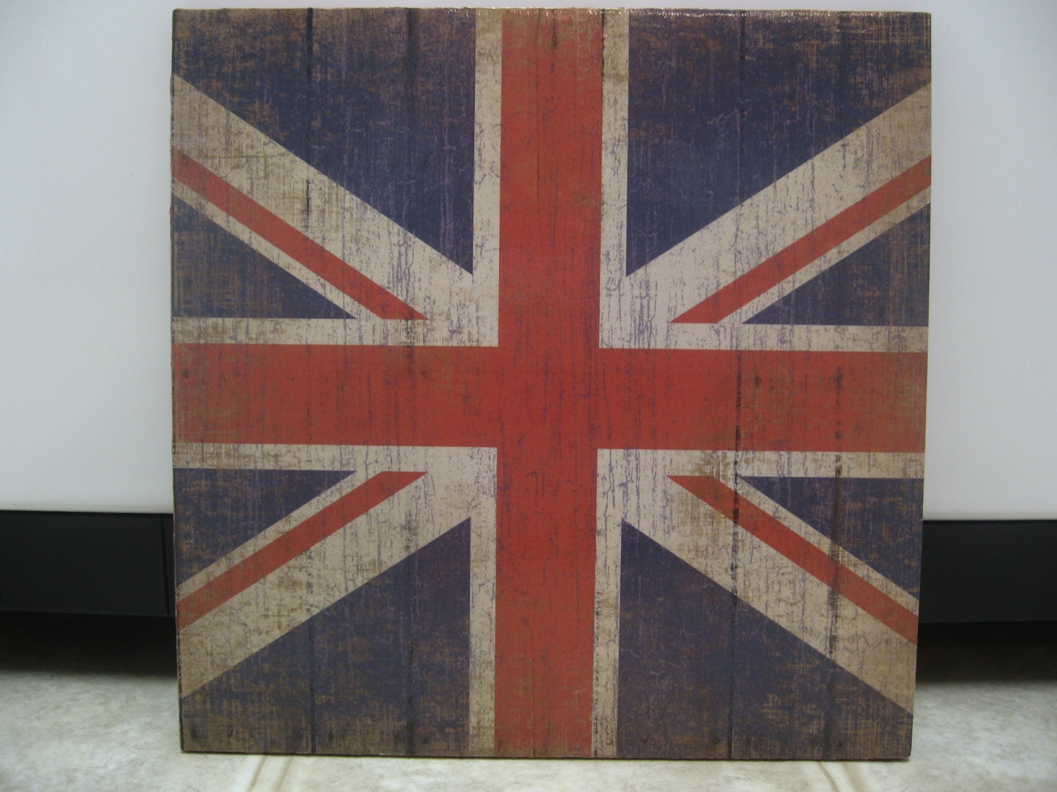 Rock and roll room decor union jack wall decor union jack for Decoration murale union jack