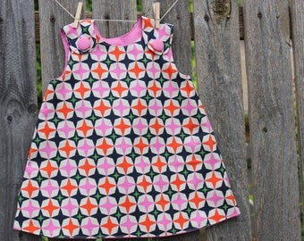 Baby A Line Reversible Dress