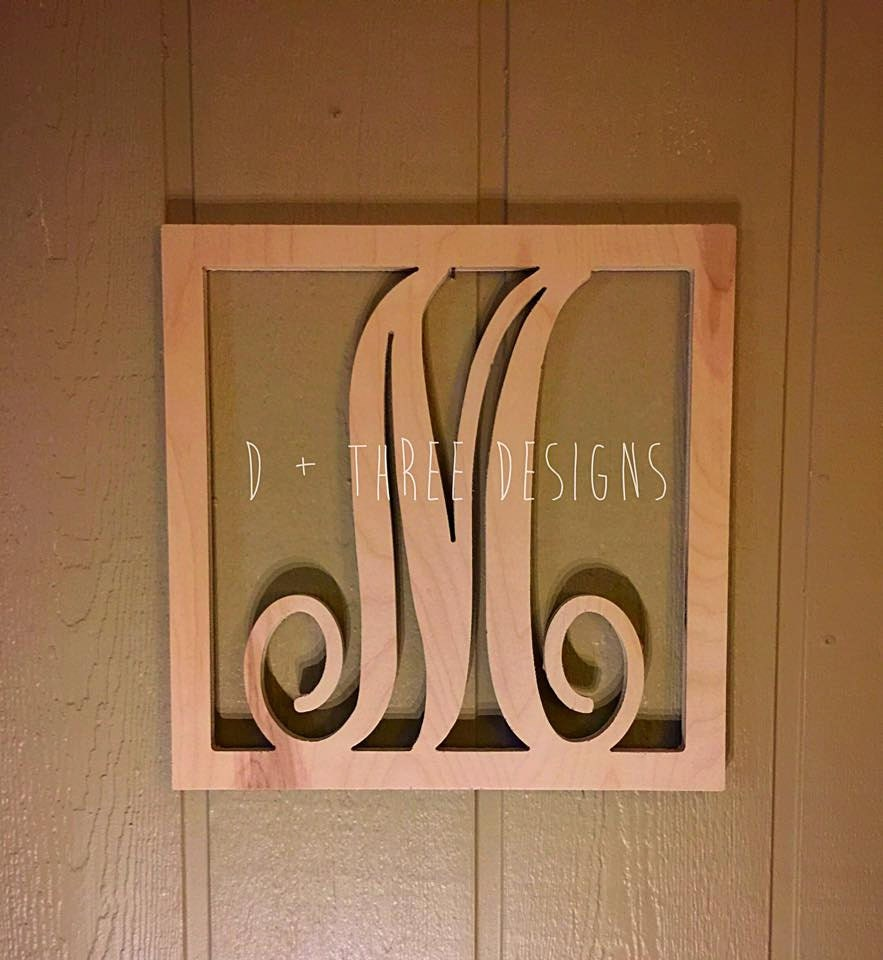 Monogram Letters Home Decor 28 Images 24 Inch Wooden