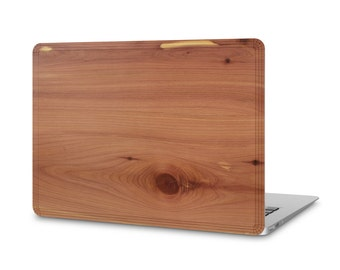 MacBook Air #WoodBack Real Wood Skin - Cedar (FREE and Fast Delivery)