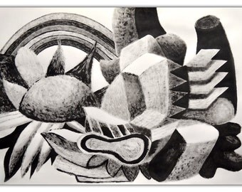 Still Life Cubist. A3 size.