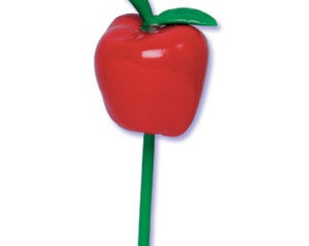 3D Apple Cupcake Picks