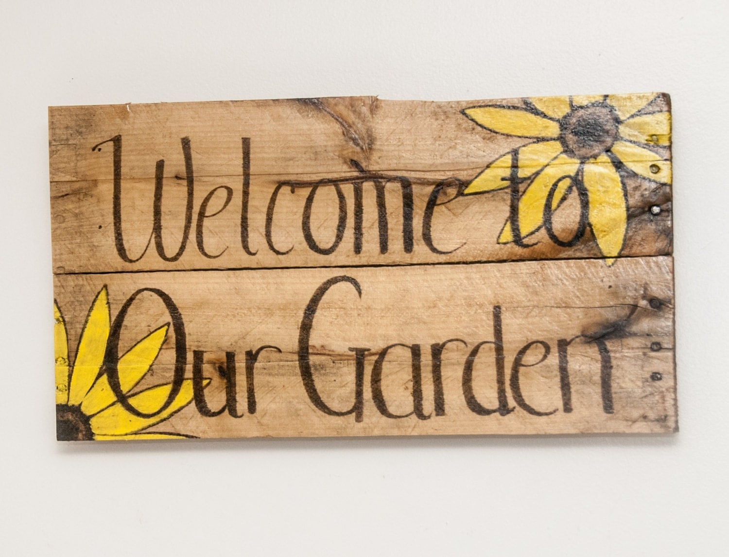 Garden decor garden art garden sign outdoor garden decoration for Outdoor decorative signs