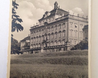Vintage Ludwigsburg Schlofs Palace Postcard