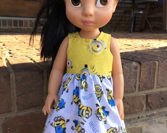 Disney Animator Doll Minions Dress