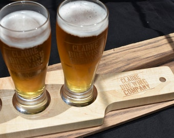 Beer Flight Paddle - Beer Flight - Craft Beer - Home Brew - Groomsman Gift