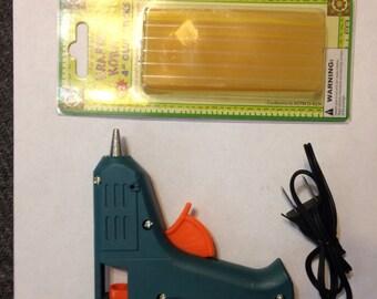 OOAK mini glue gun and mini glue sticks