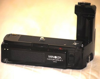Minolta Motor Drive 1 MD-1 Vintage (for X-570/X-500 - Working/Restored)