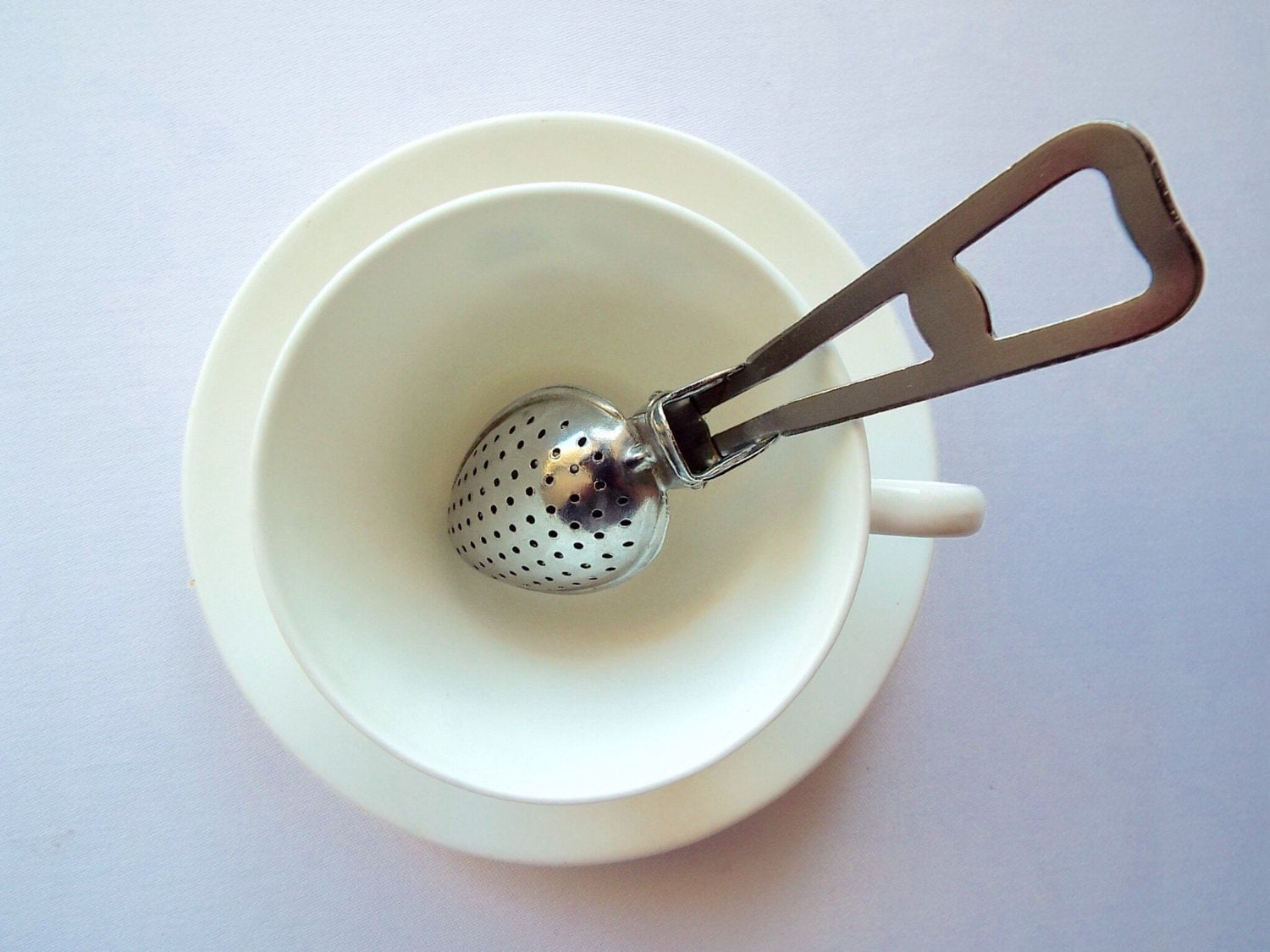 how to make loose leaf tea without a strainer