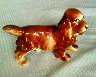 Sweet Spaniel Porcelain Figurine