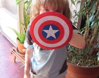 Captain America, Captain America shield, Captain America cosplay, super hero, shield, superhero, avengers, marvel, felt shield, cosplay