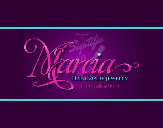 super elegant name logo design custom jewelry business logo. Black Bedroom Furniture Sets. Home Design Ideas