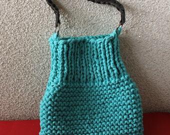 Knitted bag: Barcelona