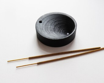 Incense stick holder black