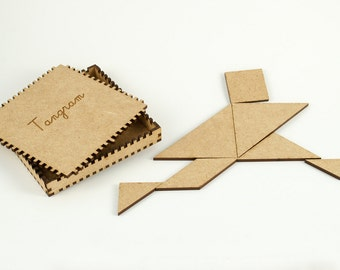 Custom tangram