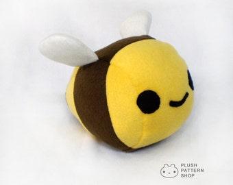 Bumble Bee Plushie Stuffed Animal Toy