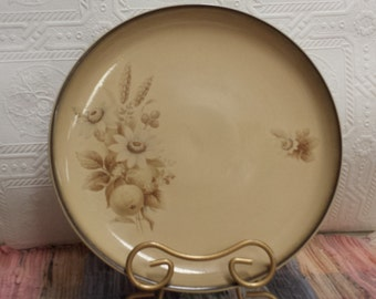 "Vintage 70s Denby Stoneware; ""Memories""; Dinner Plate; Made in England"