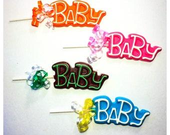Baby Belgian Chocolate Lollipops