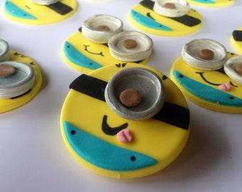 Minion Cupcake Topper