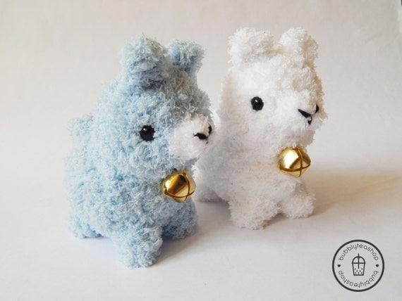 Amigurumi Alpacasso : Amigurumi alpaca plush alpacasso by bubblyteashop