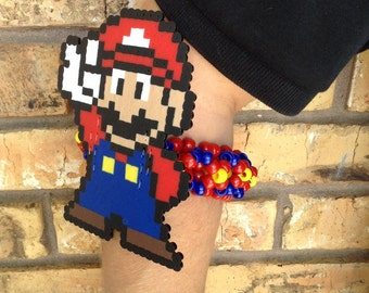 Mario Perler 3D Kandi Cuff
