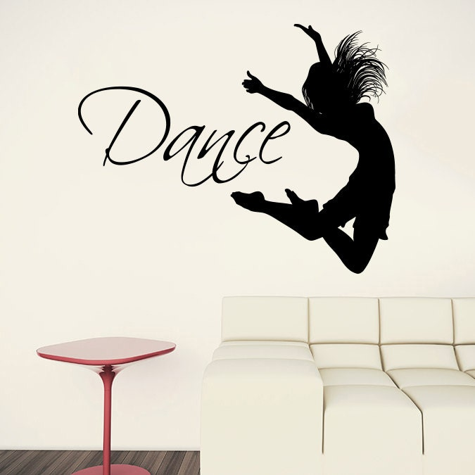 Dance quotes wall decals