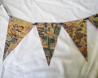 Triangular Comic Book Banner