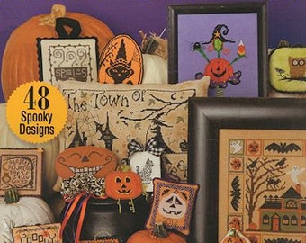 2012 Just Cross Stitch Halloween Collection 12-1970