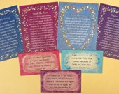 Encouragement / Support - Gift Cards and Fridge Magnets Pack