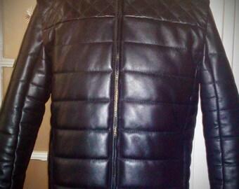 Frozen Diamond - men's leather jacket (Free shipping)
