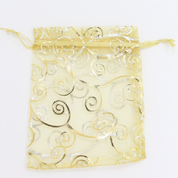 Gold Wedding Gift Bags : ... Gifts Guest Books Portraits & Frames Wedding Favors All Gifts